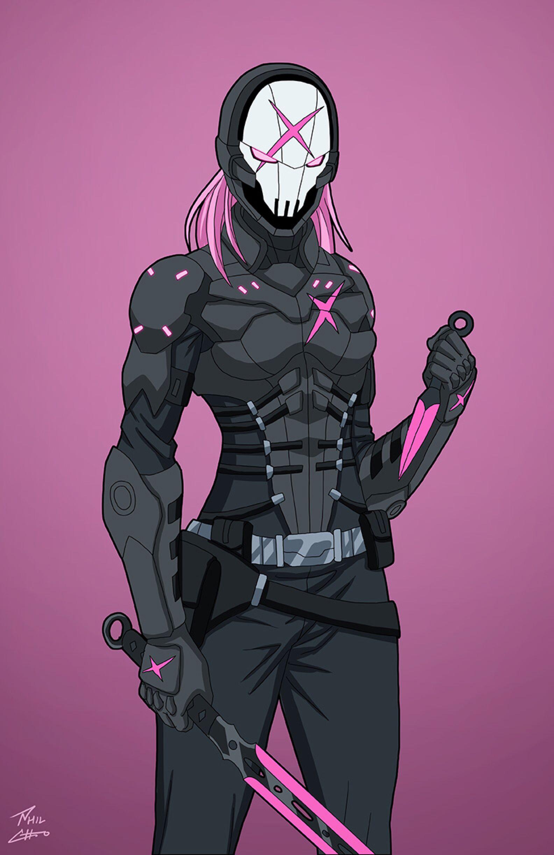 Phil Cho deviantART Superhero Concept Art