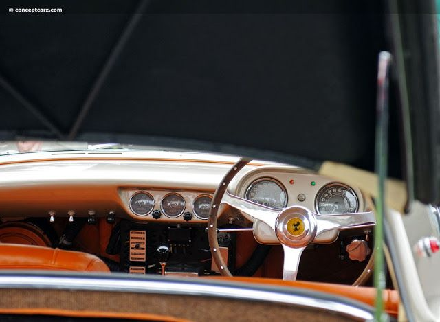 1954 Ferrari 375 MM Coupé Speciale Pinin Farina (#0456AM) in 2020   Ferrari, Coupe, Roberto ...