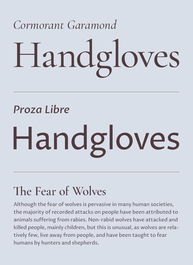 Five Fresh Headline & Body Text Pairings on Google Fonts | +