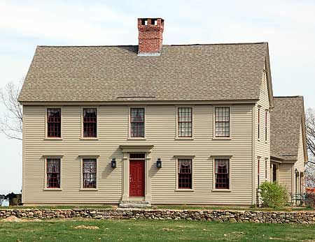 Plan W17125cc Traditional Photo Gallery Colonial Narrow Lot Corner Lot House Plans Home Designs Colonial Exterior Colonial House Colonial House Plans