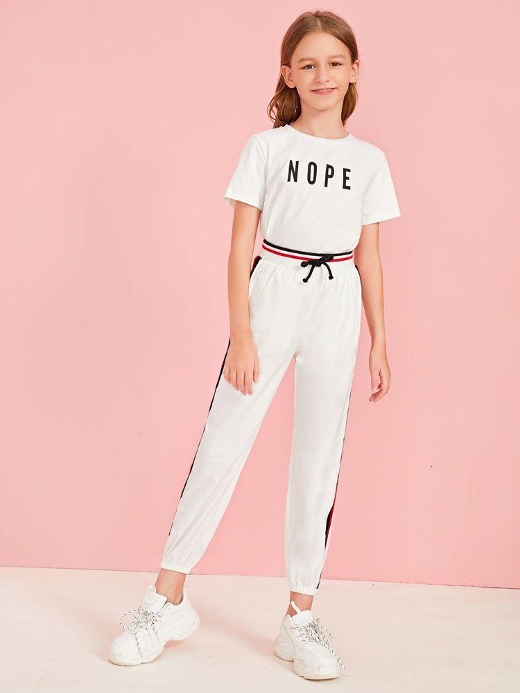 MV Childrens Wear Girls New Summer Suit Children Two-Piece Fashion Clothes Pink