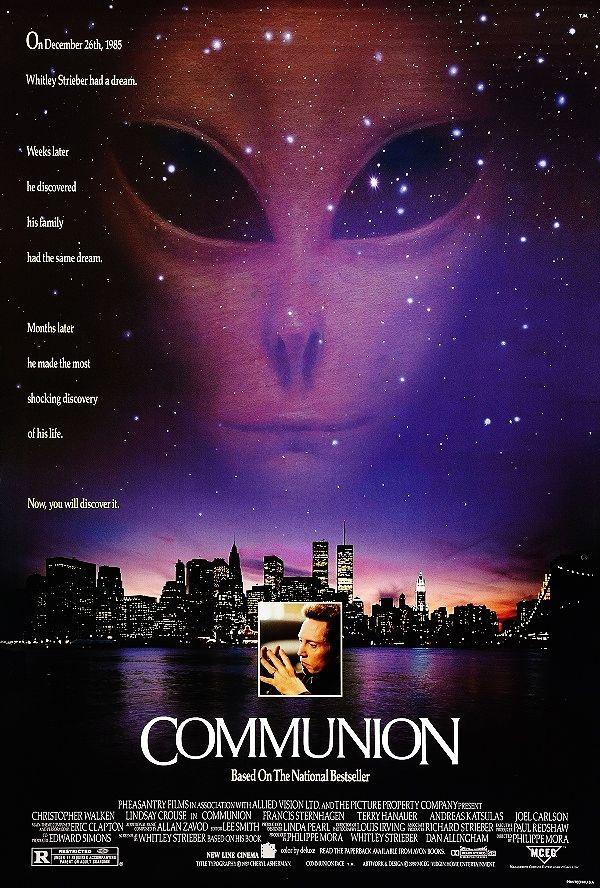 Communion 1989 Película De Extraterrestres Películas De Ciencia Ficción Peliculas
