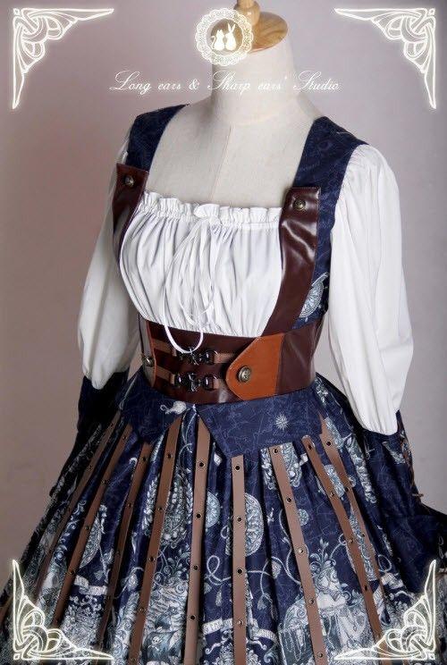Long Ears and Sharp Ears~The Great Voyage~ Lolita OP Dress