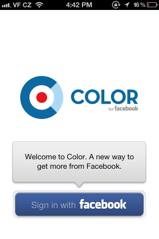 Color for Facebook / Social Networking