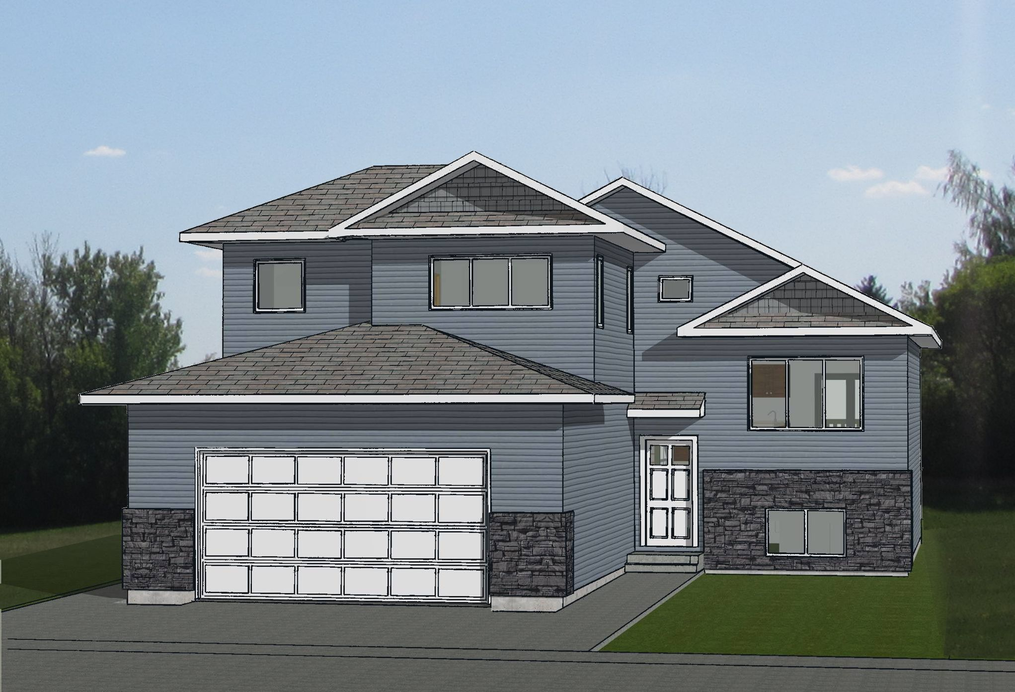 Drawing Dreams Into Reality House Design Bi Level Homes Level Homes