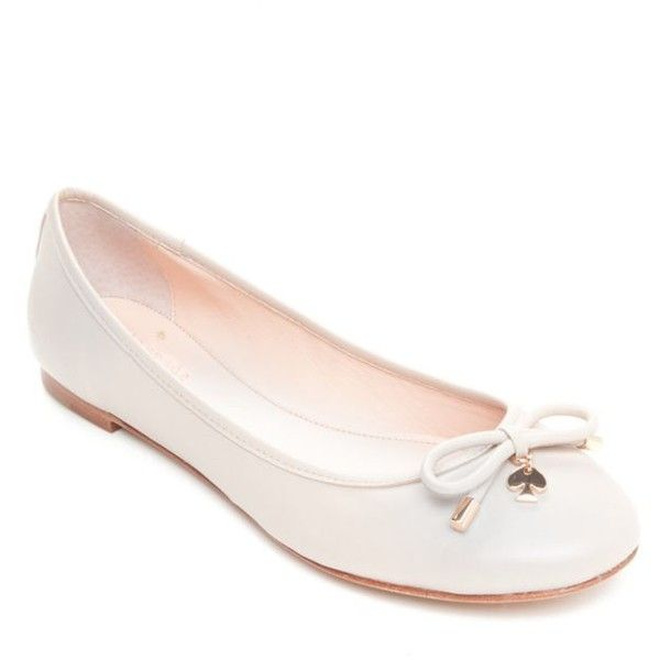 6712eac6c610c9 Kate Spade New York Powder Willa Ballet Flat - Women s ( 198) ❤ liked on  Polyvore featuring shoes