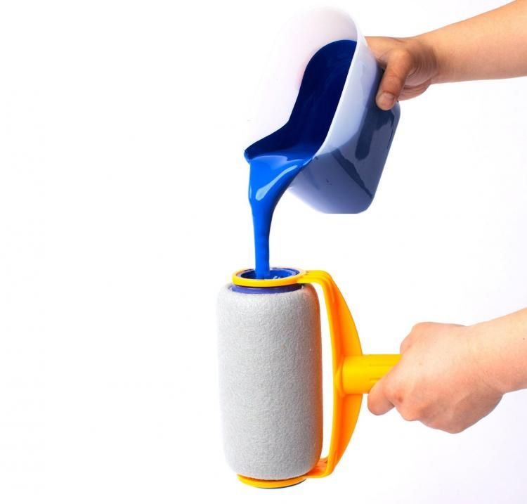 Paint Runner A Non Drip Paint Roller That Stores Paint Paint Runner Paint Roller Runner