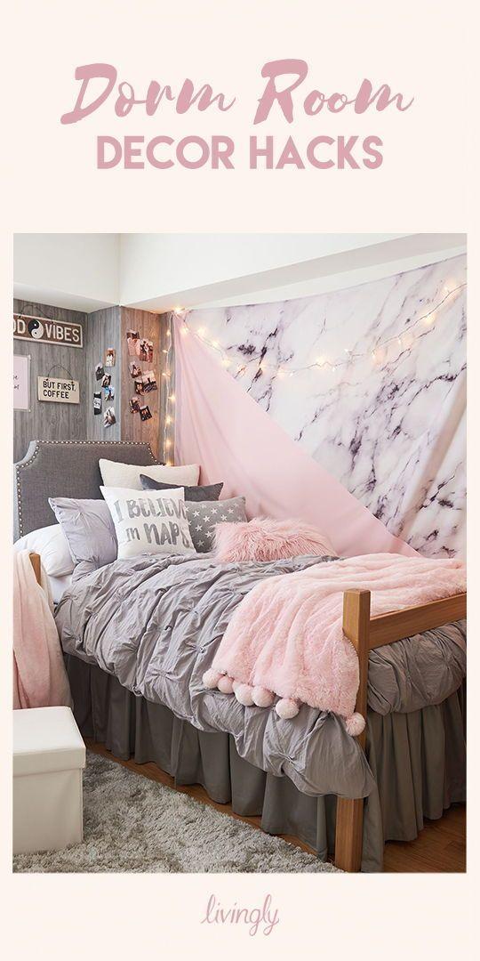 Back-To-School Dorm Room Hacks images