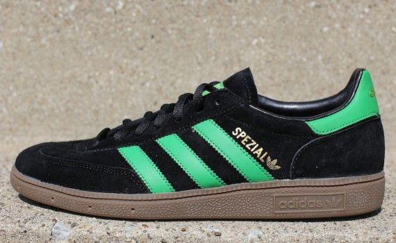 adidas Originals Spezial Black Green Gum