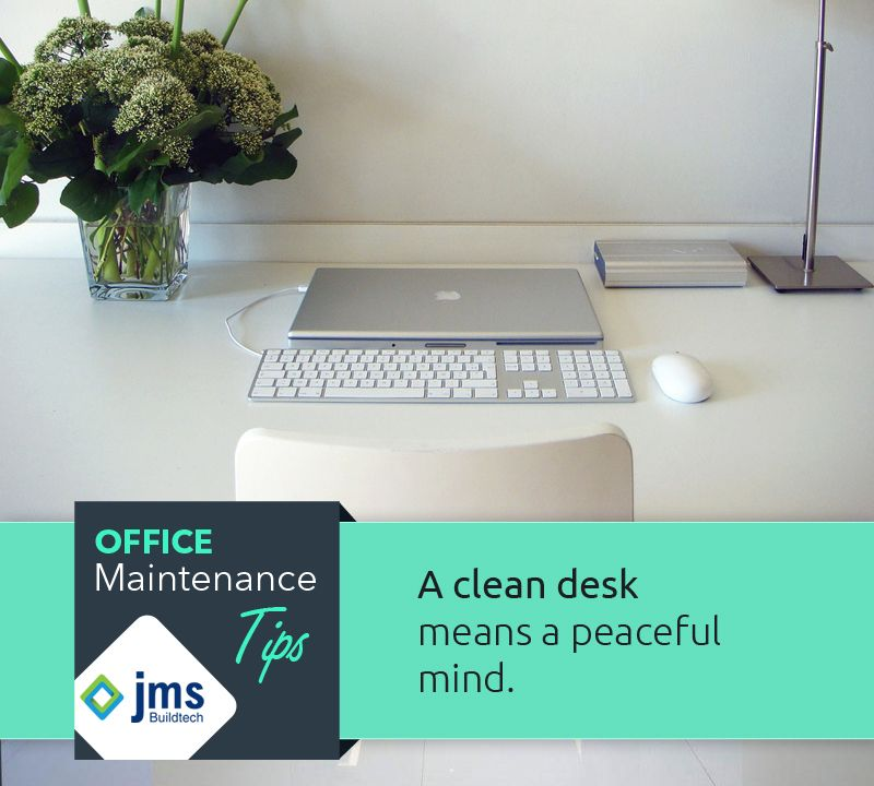 Enjoy A Peaceful Day At Office With Clean Desk