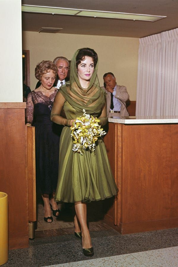 Elizabeth Taylor's Best Wedding Looks (& There Were Many)