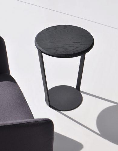Indigo Glass Side Table Seaside Glass Side Tables Side Table