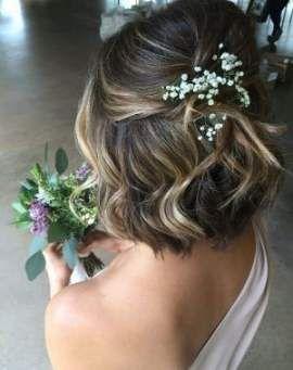 Trendy Wedding Hairstyles Short Hair Bob 57+ Ideas