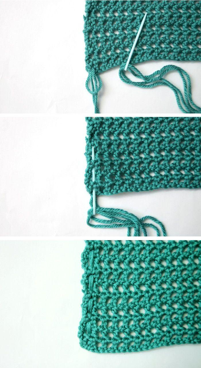 Woven Tassel Pillow - Free Crochet Pattern   Punto cruz, Tejido y Varios