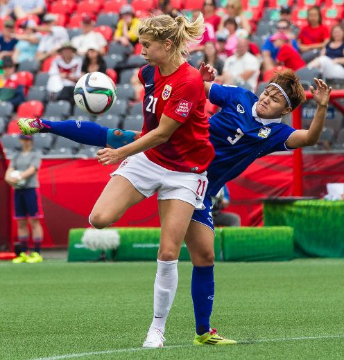 Norway thumps Thailand in Ottawa's World Cup opener | Hofley | Soccer | Sports |