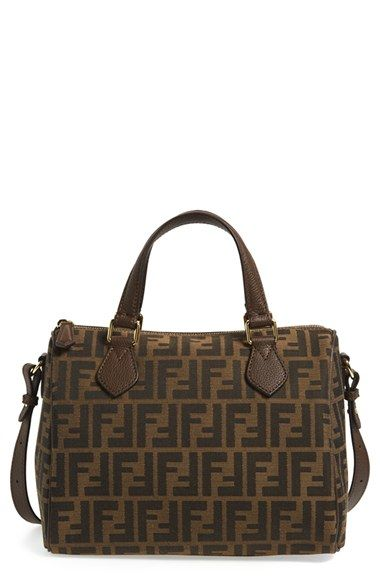 e2dbc00ee1 Fendi  Zucca Boston  Logo Jacquard Satchel available at  Nordstrom ...