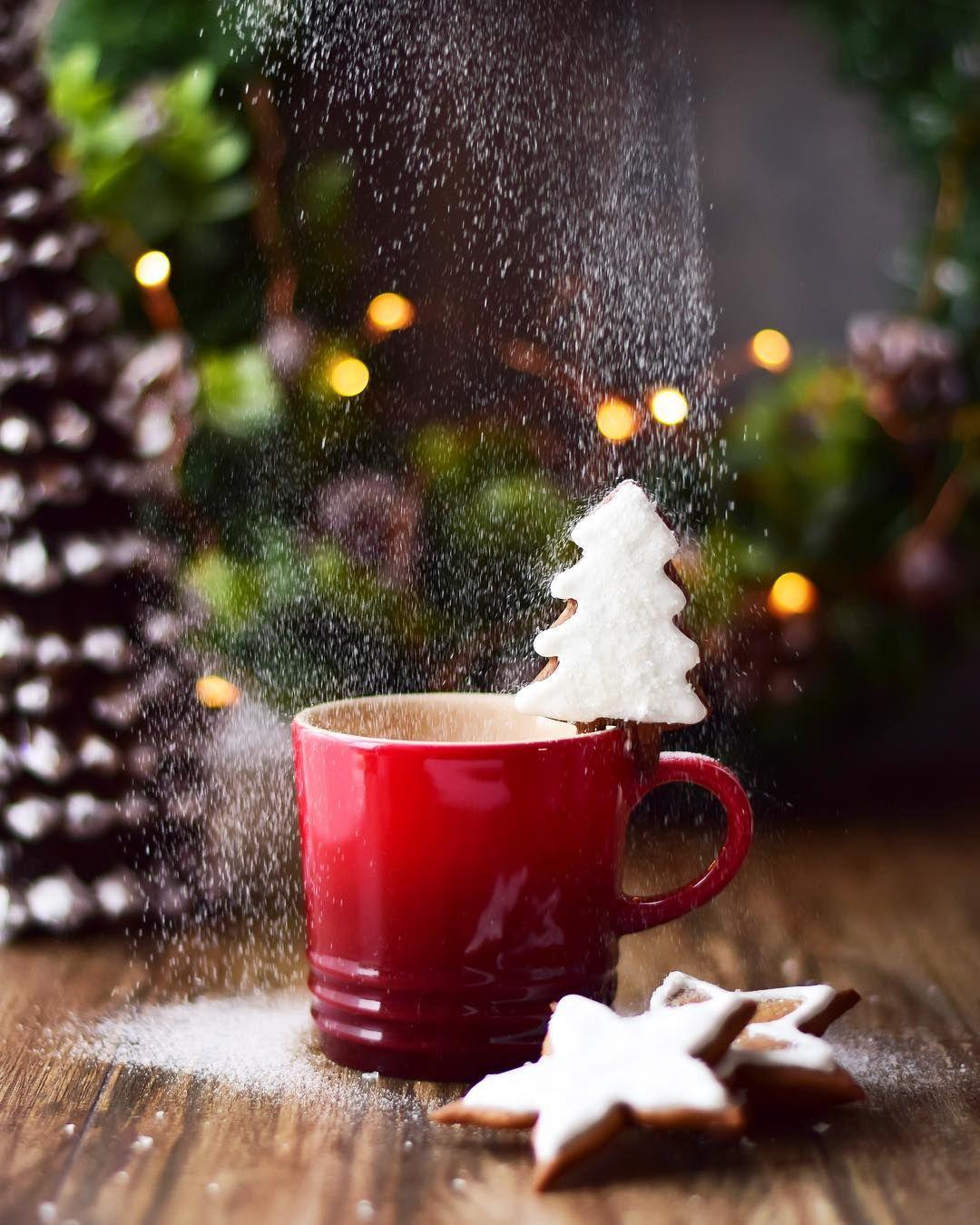 Guten Morgen Mit Kaffee Und Leckeren Keckschen Lässt Es Sich