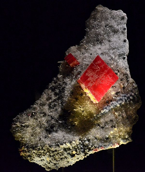 The Biggest Rhodochrosite Crystal Found In Sweet Home Mine Known As Alma King J