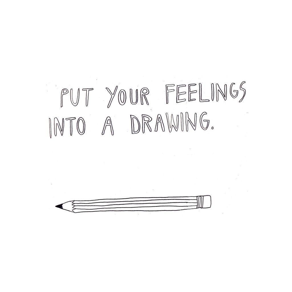 On drawing. (by christine forever young)