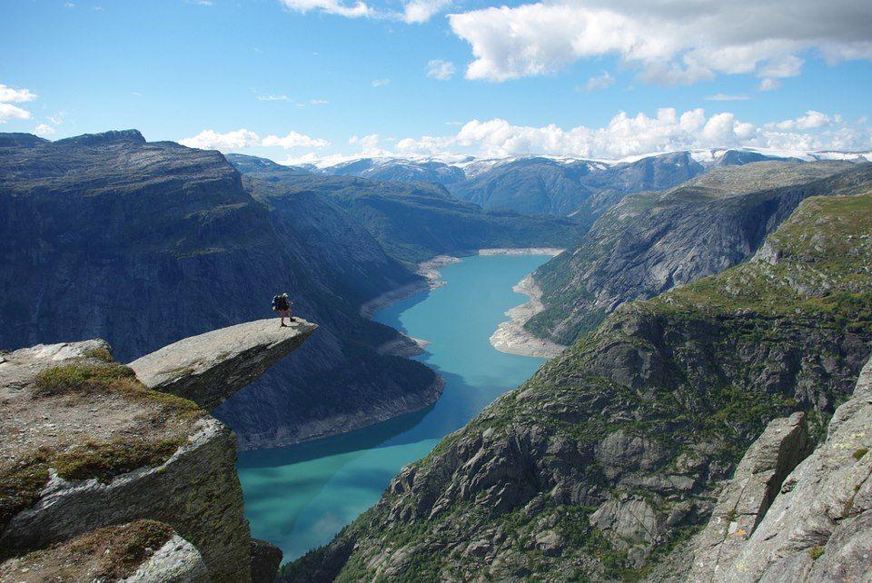 Trolltunga Rock, Norway
