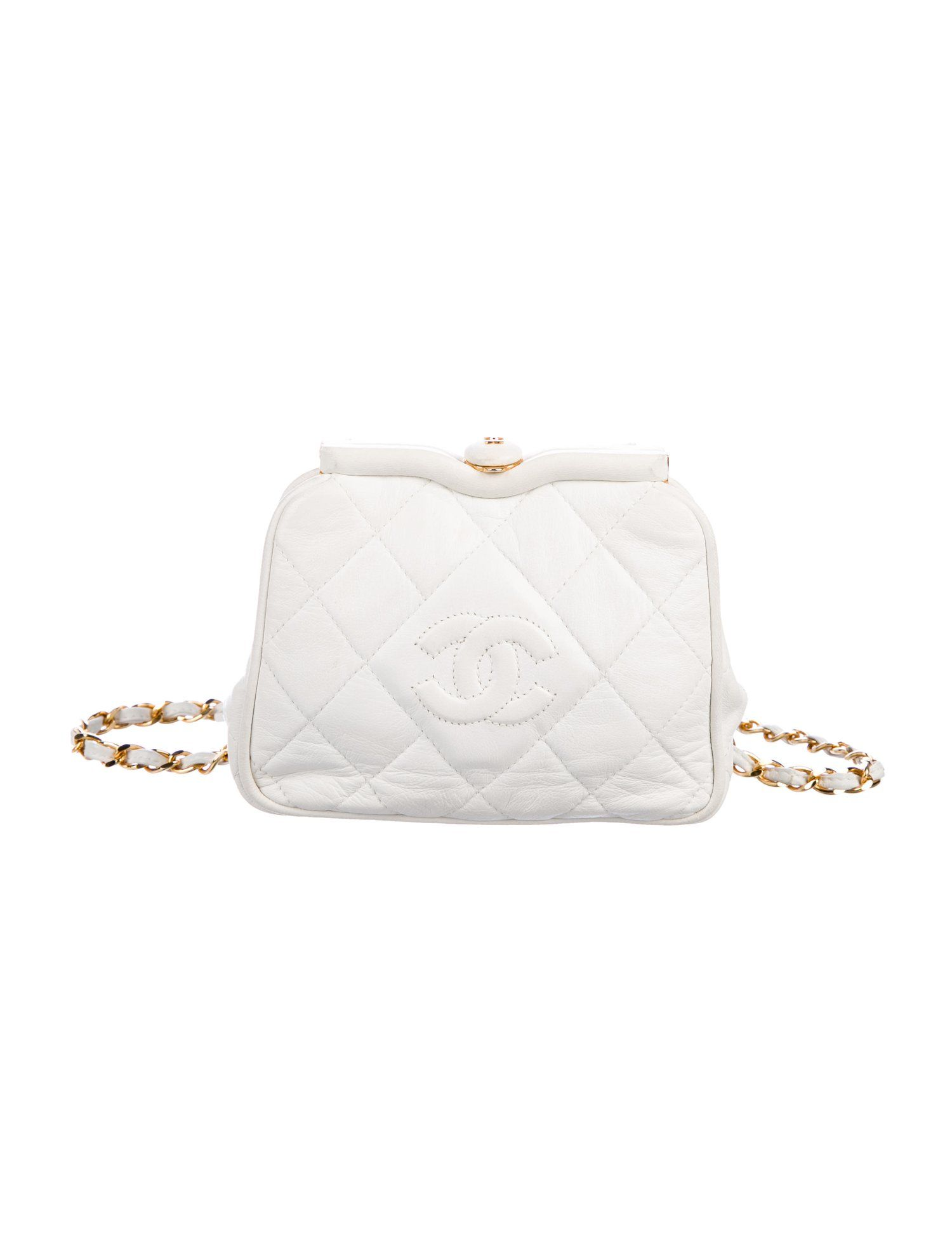 cdb9fa1f68b3 Chanel Vintage CC Tassel Waist Bag - Handbags - CHA274670 | The RealReal