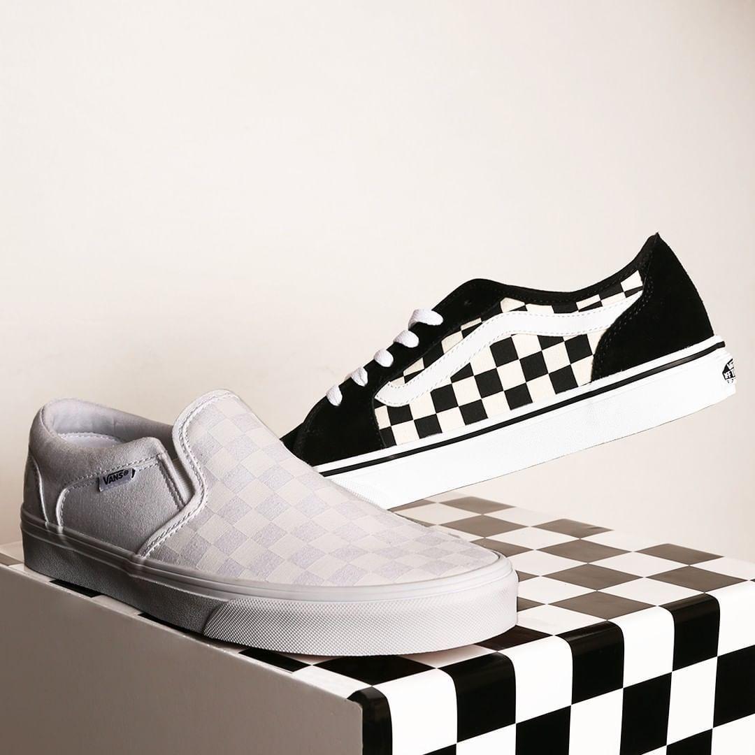 BLACK & WHITE - OU FULL WHITE ! A motifs damiers, avec ou ...