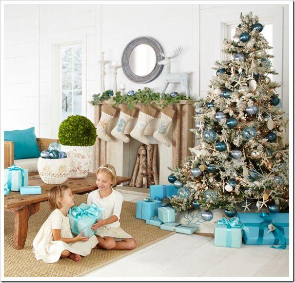 Coastal Christmas Trees Coastal christmas, Coastal and Christmas tree - coastal christmas decorations