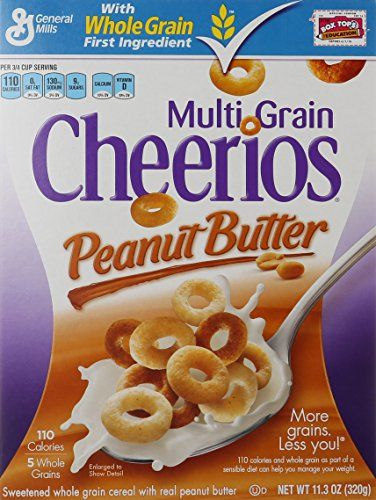 general mills cereals multi grain cheerios peanut butter cereal 11 3 ounce http