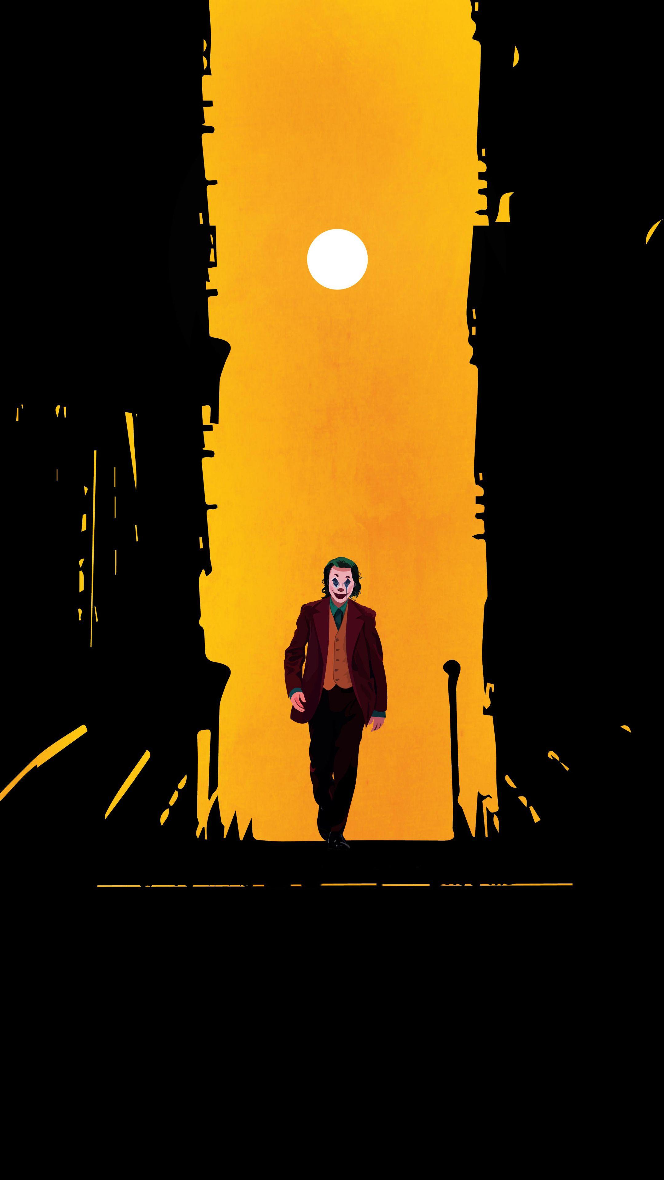 Fan art, Joker, 2020 movie, 2160x3840 wallpaper