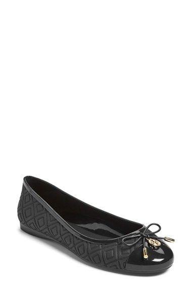 cd674c96765 Tory Burch 'Jelly' Logo Ballet Flat (Women) available at #Nordstrom ...