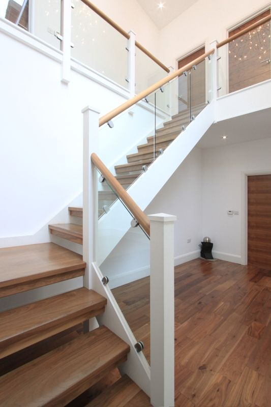 Best Walnut Staircase From A New Home We Designed In Yorkshire 400 x 300