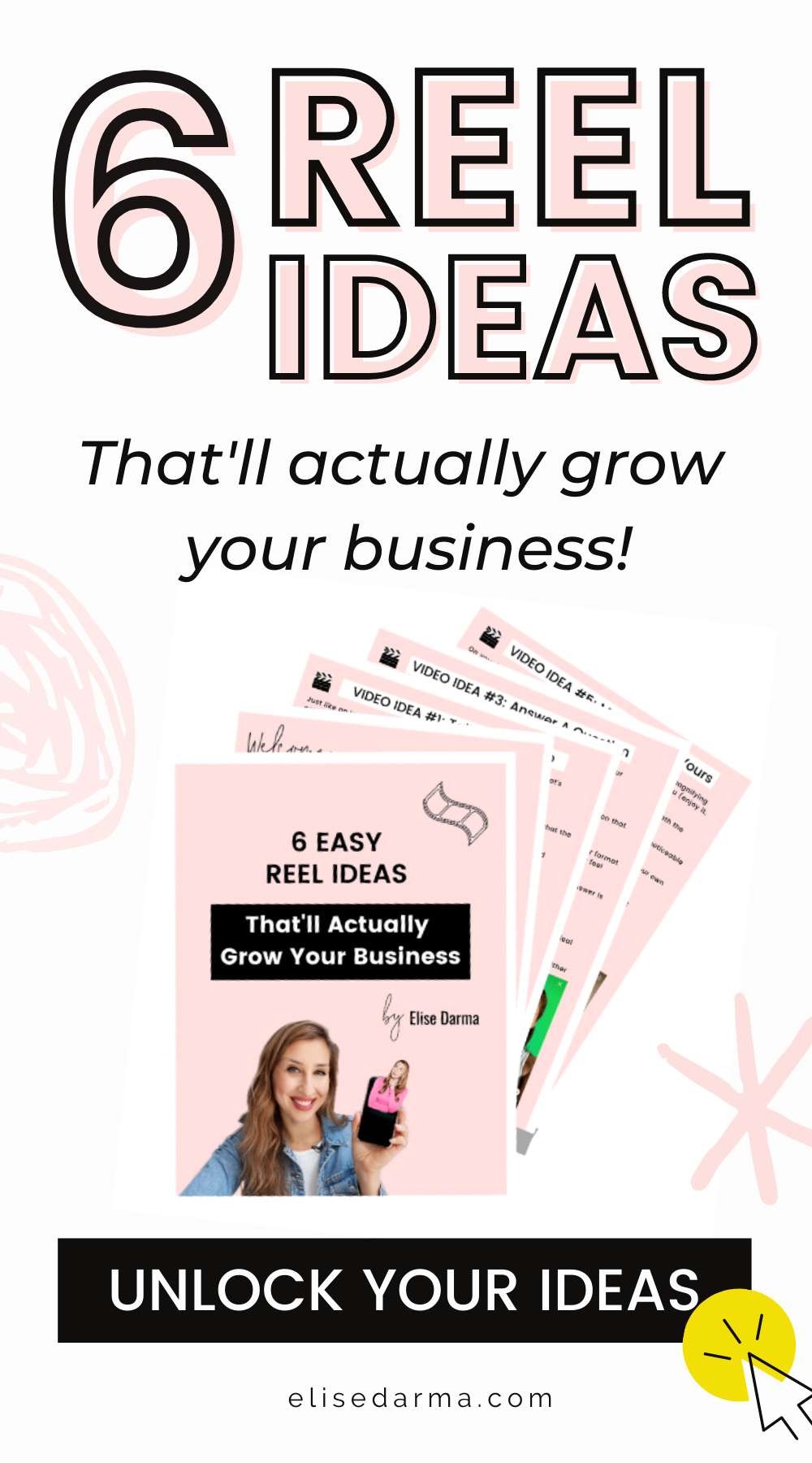 6 Free Reel Ideas That Ll Grow Your Business Instagram Business Business Checklist Marketing Strategy Social Media