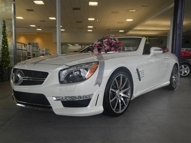2013 Mercedes Benz SL 65Amg 4DR Convertible 2 Doors Diamond White For Sale  In North