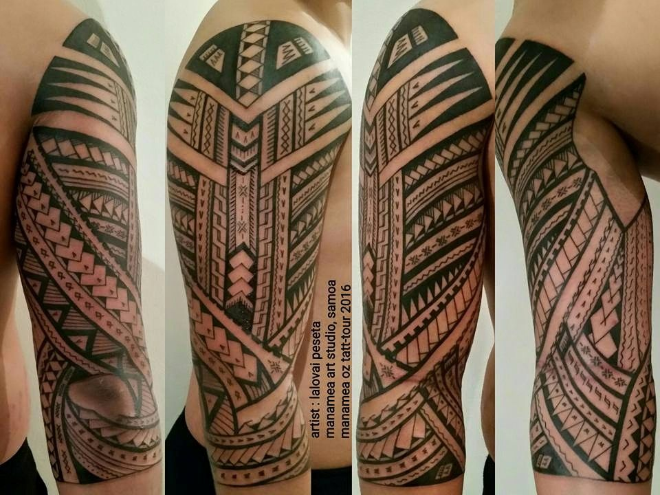 Samoan Artist Lalovai Peseta He's on Facebook as Manamea