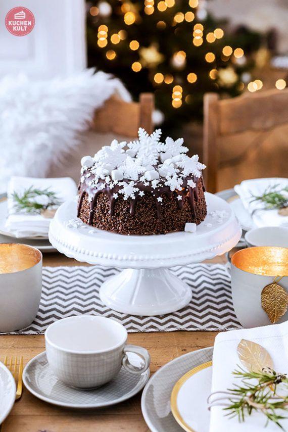 Weihnachten Kaffeetafel Torte Weihnachtstorte Kuchen Rezepte Ideen ...