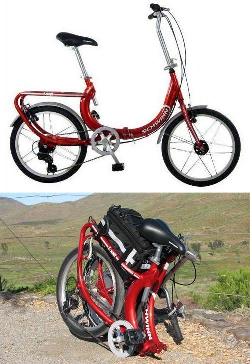 Use Your Bike And Fold It Up Schwinn Loop 7 Speed Folding