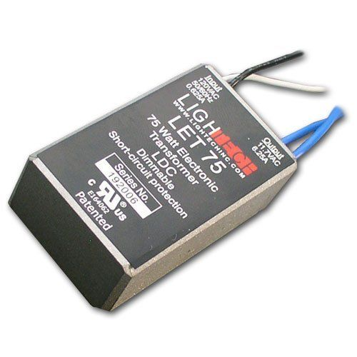 Let 75 12v Ac Class 2 Electronic Remote Transformer By Lightech By Lightech 12 99 Electronic Transformer Let 75 Ac Transformers Light Accessories Let It Be