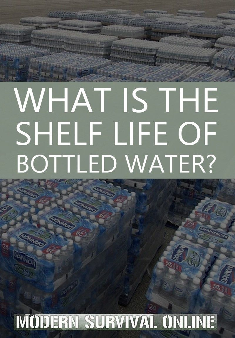 What is the Shelf Life of Bottled Water? in 2020 Water