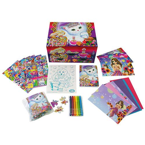 Lisa Frank Light-Up Stationery Chest - Three pattern options. $14.99. Toys 'R' Us, in-store only.
