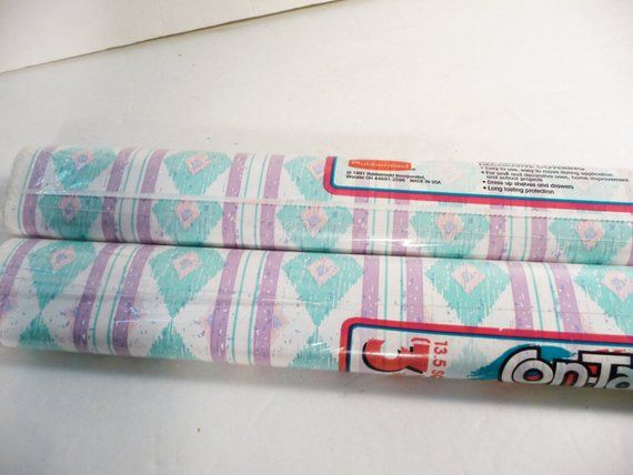 80s Mojave Aztec Contact Paper Rubbermaid Vintage Paper Wall Paper
