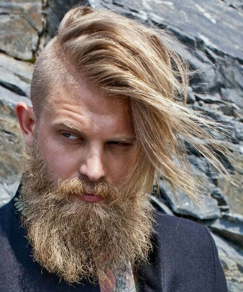 top 3 men's hairstyles with shaved