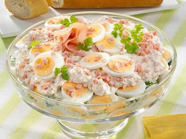 Photo of Egg Layer Salad Recipe DELICIOUS