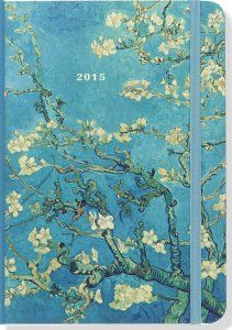 2015 Almond Blossom Weekly Planner, Calendars, Compact Engagement Calendars, Peter Pauper Press