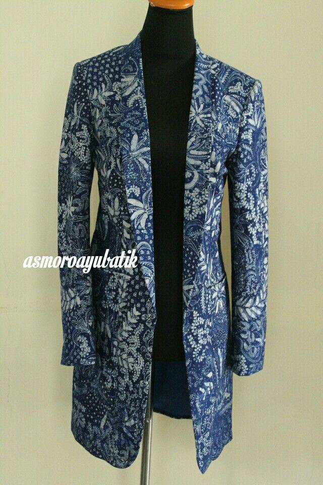 Model Baju Rompi Batik