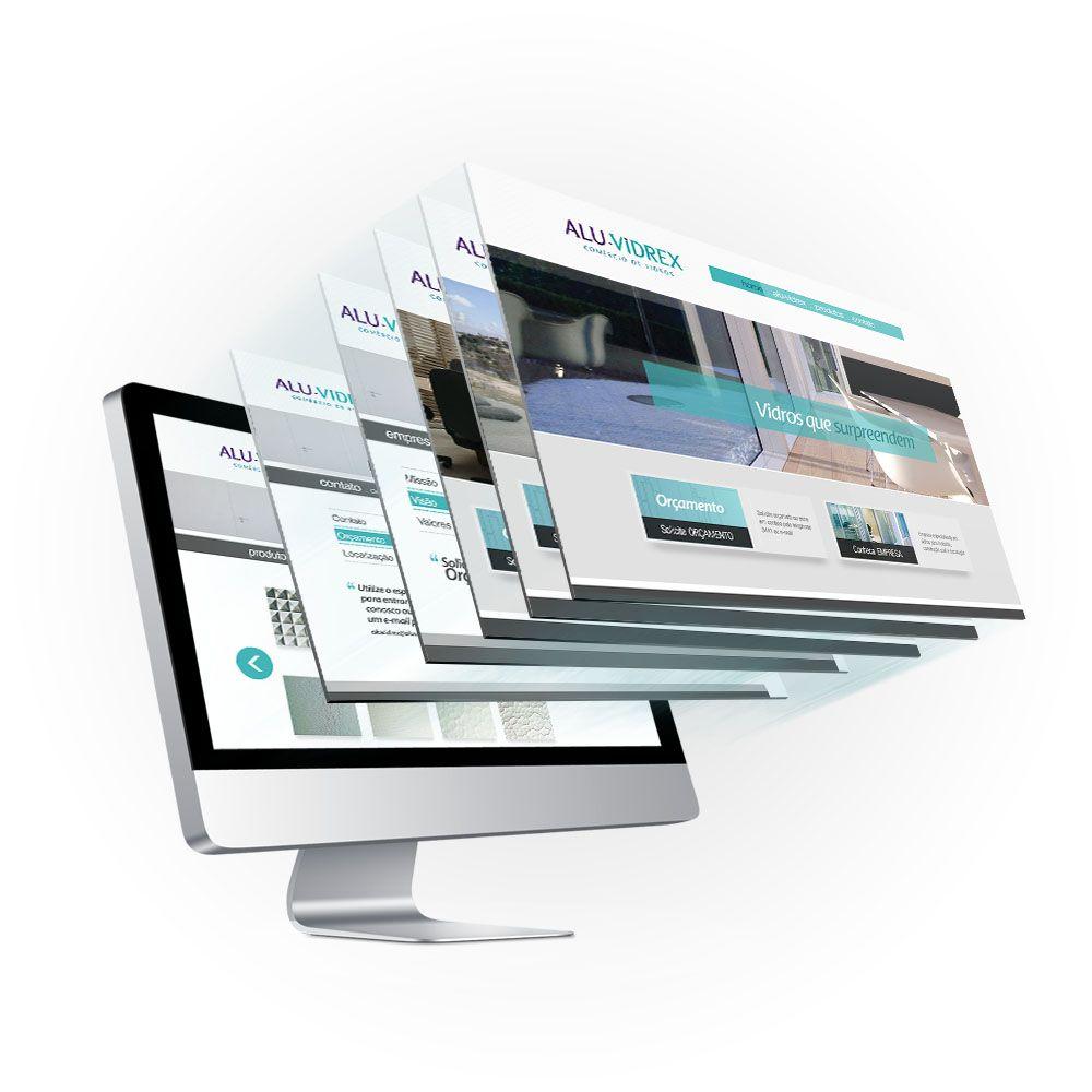 Aluvidrex / 2013  Especializada no segmento de aberturas em alumínio, lança novo site com intuito de melhorar sua visibilidade.