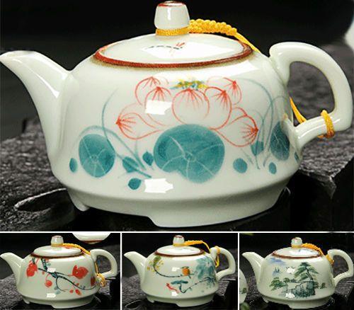 Cheap [ ht! ] 160 ml pintado a mano de cerámica kung fu juego de té de cerámica chino crisol tetera hervidor juego de té infusor handpainting gongfu juego de té olla, Compro Calidad Sets Té y Café directamente de los surtidores de China:          En particular, nos gustaría recomendar nuestros productos estrella Zhangping Shui Xian té, que es de Nany