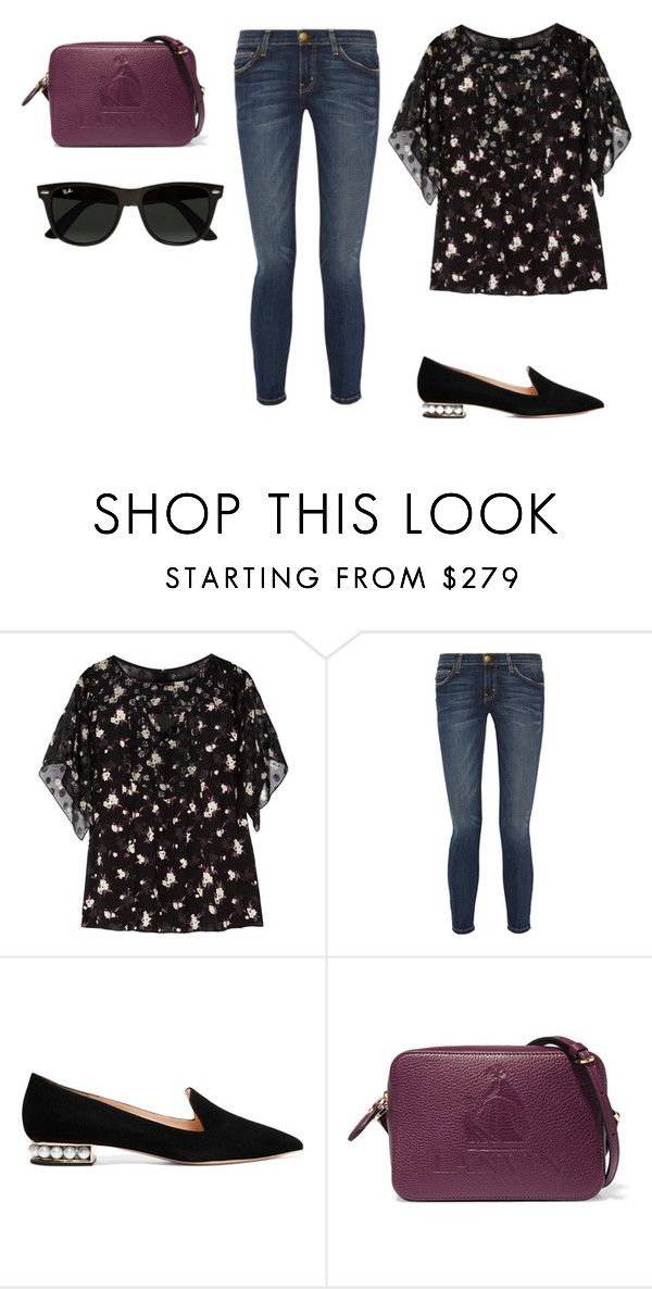 2440eeb5f8a Anna Su liked on Polyvore featuring shoes and blue shoes My