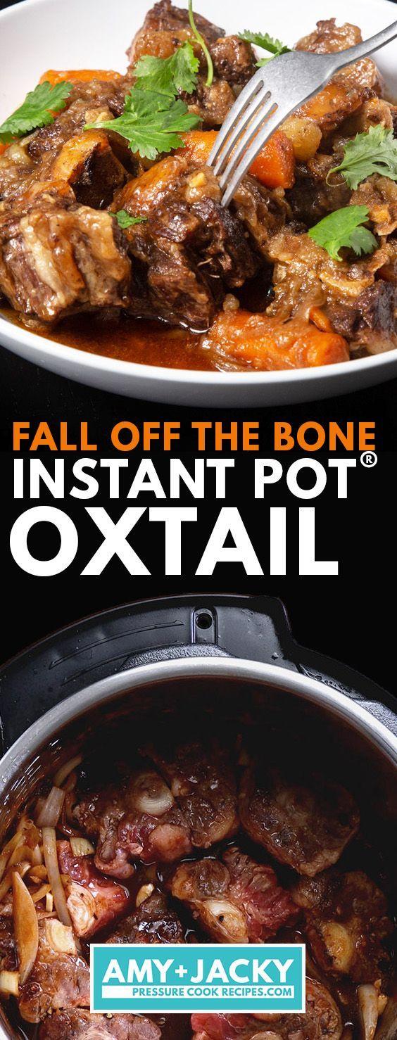 instant pot oxtail  recipe  beef recipe instant pot
