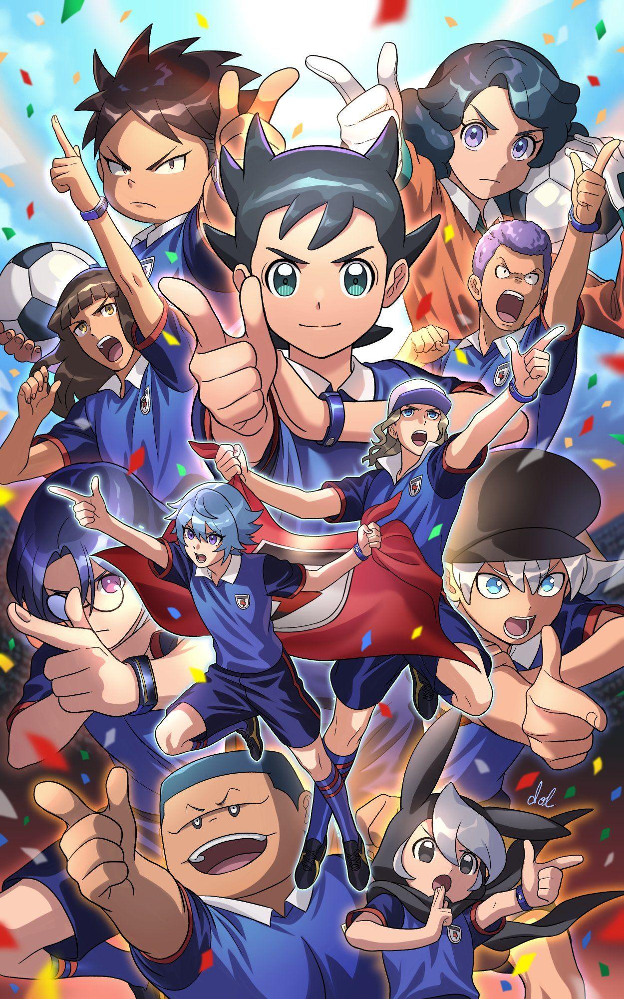Pin De Oceanssss Em Inazuma Eleven Personagens De Desenhos