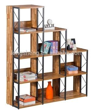 2016 Home 4 Layer Modern Movable Bookshelf